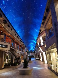 MSC Meraviglia cruise ship outfitted with Elation LED lighting package
