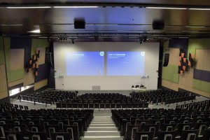 Deakin University's Rusden Theatre equipped with Powersoft X8 amplifiers