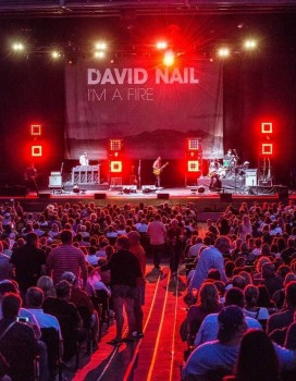 "Elation Cuepix Panels from Arena to Clubon David Nail ""I'm a Fire"" Tour"