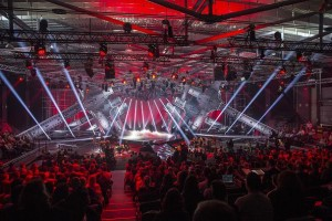 200 plus Robe lighting fixtures selected for PopRock Festival Slovenia