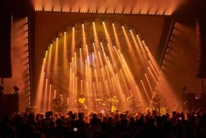 LMG Touring supplies Elation ACL 360i beam effect lights for Paramore tour