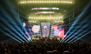 Zac Brown Band on tour with Elation Cuepix