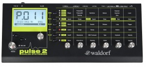 Waldorf Pulse2-Analog-Synthesizer lieferbar