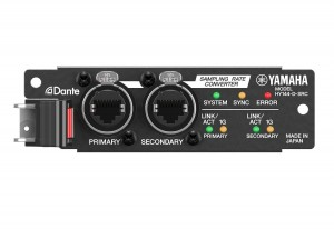 Yamaha Rivage PM series adds two new audio interface cards
