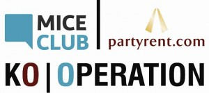 Party Rent ist Partner des MICE Club Live