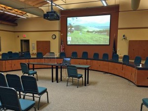 Missoula City Council Chambers upgrades with Eiki