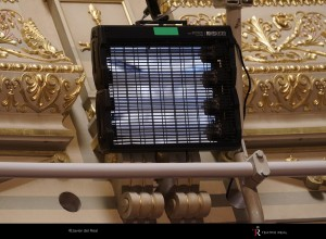 Corona: Teatro Real uses GSUV ultraviolet light to disinfect its spaces