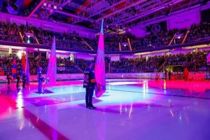 Elation and SLD Mediatec create pre-game show for German ice hockey team