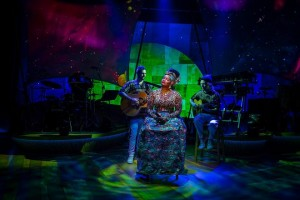 'Djembe! The Show' makes U.S. debut beneath all Elation lighting rig