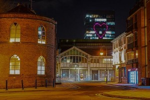 Astera fixtures illuminate 'The Heart of Manchester'