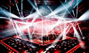 Eurovision Song Contest mit Moving Lights von GLP