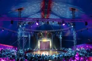 Zirkus Circolo mit Dynacord- und Electro-Voice-Equipment
