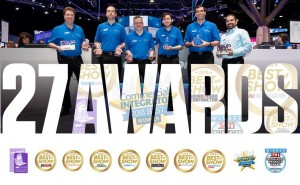 Crestron wins company-best 27 industry awards at InfoComm