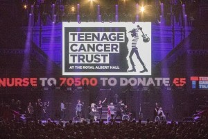 Fineline supplies LED screen for Teenage Cancer Trust shows