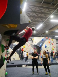 Yamaha audio system installed at new bouldering gym in Copenhagen