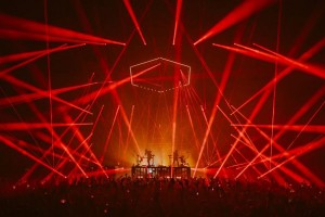 Odesza on tour with Robe fixtures