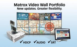 Matrox updates video wall portfolio