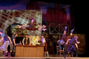 "Elation lights Floyd Central High School production of ""Newsies"""