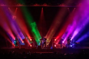 Thrice on tour with Chauvet fixtures