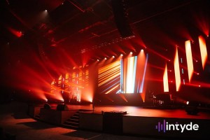 Elation lighting renewal at Redemption to the Nations church in Chattanooga