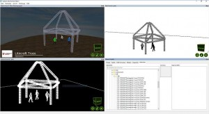 Capture-Integration von Litecraft Truss